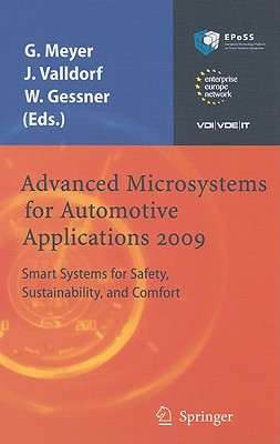 Advanced Microsystems for Automotive Applications 2009 By Meyer, Gereon/ Valldorf, Jurgen/ Gessner, Wolfgang